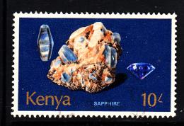 Kenya Used Scott #110 10sh Sapphire - Kenya (1963-...)