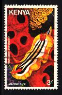 Kenya Used Scott #173 3sh Sea Slug - Kenya (1963-...)