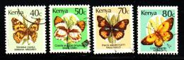 Kenya Used Scott #426-#429 Butterflies - Kenya (1963-...)