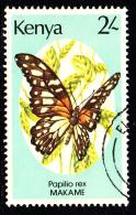 Kenya Used Scott #431 2sh Papilio Rex - Kenya (1963-...)