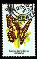 Kenya Used Scott #434 3.50sh Papilio Demodocus - Kenya (1963-...)