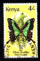 Kenya Used Scott #435 4sh Papilio Phorcas - Kenya (1963-...)