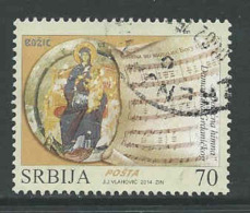 Servie, Mi 570 Jaar 2014, Gestempeld, Zie Scan - Serbia