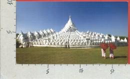 CARTOLINA VG BIRMANIA MYANMAR - Myatheindan Stupa In Mingun - 10 X 17 - ANN. 2014 - Myanmar (Burma)