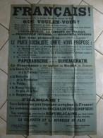AFFICHE FRANCAIS QUE VOULEZ VOUS ? 120 X 79 Cm - Affiches
