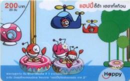 Mobilecard Thailand - Happy - Comic - Ameisen ( 1 ) - Thaïland
