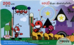 Mobilecard Thailand - Happy - Comic - Ameisen ( 2 ) - Thaïland