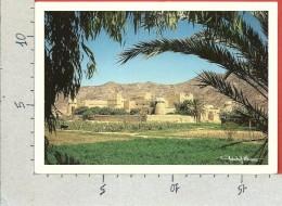 CARTOLINA VG ARABIA SAUDITA - The Former Najran Emirate In Traditional Clay Construction - 12 X 17 - ANN. 1989 - Arabia Saudita