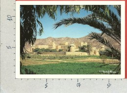 CARTOLINA VG ARABIA SAUDITA - The Former Najran Emirate In Traditional Clay Construction - 12 X 17 - ANN. 1989