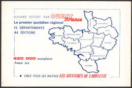 BUVARD OUEST FRANCE - Blotters