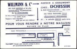 BUVARD WILLMANN Equipement Gendarmerie - Buvards, Protège-cahiers Illustrés