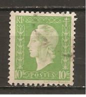 Francia-France Nº Yvert  698 (usado) (o)
