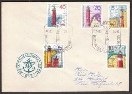 Germany Berlin 1974 / Lighthouses