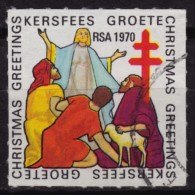 South Africa RSA / TBC Tuberculosis / Christmas / Charity Stamp - Label Cinderella Vignette - Jesus