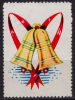 Christmas BELL - USA - Charity Label / Cinderella / Vignette