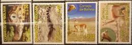 Bolivia, 2006, Endangered Animals, Crocodile, MNH