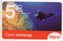 GUYANE RECHARGE DIGICEL 5€ Date 06/2007 - Guyana