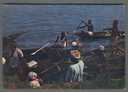 U6046 NIGERIA CANOEMAN ON PATEGI CANOA VG SB (mik) - Nigeria