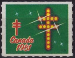 Canada 1981 - TBC Tuberculosis Charity Stamp / Cinderella / Label / Vignette