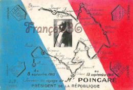 Souvenir Du Voyage De Mr Raymond Poincaré Président De  La République - Bergerac Périgueux à St Saint Junien - 2 SCANS - Personnages