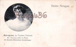Théatre Aérogyne - La Femme Volante - Cirque Circus - Attraction Scientifique - Alcazar D´été à Paris  - 2 Scans - Circo
