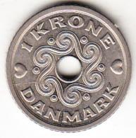 DINAMARCA 1992   1 KRONE. REINA MARGRETHE II . NIQUEL PESO 3 GRAMOS  EBC   CN4395 - Dinamarca
