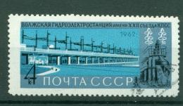 Russie - USSR 1962 - Michel N. 2704 - Réalisations Du Régime