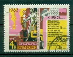 Russie - USSR 1962 - Michel N. 2679 - Tranches Décisives Du Plan