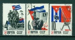 Russie - USSR 1963 - Michel N. 2754/56 - Visite Du Président Castro