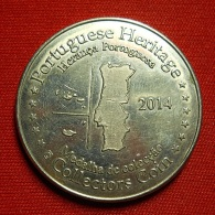 Medal - 2014 - Herança Portuguesa - Castelo De Guimarães - Sin Clasificación