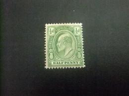 Turks And Caicos Islands 1909 EDOUARD VII Yvert Nº 48 *MH