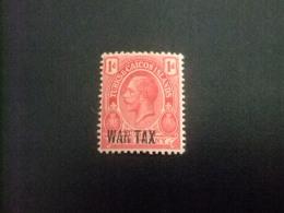 Turks And Caicos Islands 1917 - 19 GEORGE V Yvert N º  69 A * MH