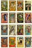 16 Postcards Of Owl Owls Bird Birds,  Postkarte Carte Postale - Oiseaux