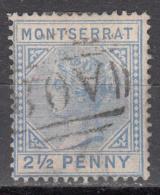 MONTSERRAT    SCOTT NO. 8    USED    YEAR  1884 - Montserrat