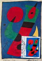 1974    Tableau De Miro  Yv 1811 - Maximum Cards