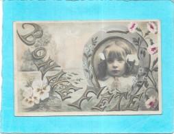 CPA COLORISEE FETE - BONNE FETE - Adorable Petite Fille Qui Prie   - ENCH0616 - Festa Della Mamma