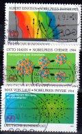 Bund 1979 Mi. 1019-1021 Nobelpreisträger Gestempelt (5253)