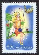 Australia 2002 The Magic Rainforest - 45c Fairy On Branch Used - 2000-09 Elizabeth II