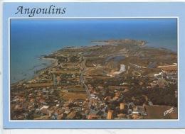 Angoulins : Le Centre Ville Vers Le Port, La Plage Et La Pointe Du Chay (ed Europ) - Angoulins
