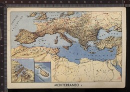 393K/27 CPA CARTOLINA POSTALE COLONIALE FORZE ARMATE CON VINCERE PIANTA EUROPA MEDITERRANEOII°WW PERIODO FASCISTA - Guerra 1939-45