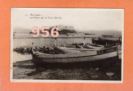 CPSM 14 X 9 * * ANTIBES * * Le Port Et Le Fort Carré - Antibes