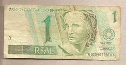 Brasile - Banconota Circolata Da 1 Real - 1995 - Brazil