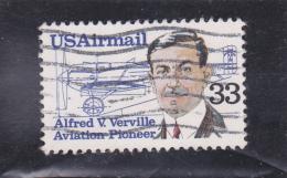 ETATS - UNIS   Poste Aérienne  Y.T. N° 107   Oblitéré - Poste Aérienne