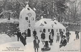 LA CHAUX-DE-FONDS → Eglise De Neige Avec Les Trois Constructeurs, Ca.1910 - NE Neuenburg