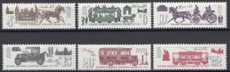 Sowjet Unie - Historische Vervoersmiddelen - MNH - Y 4866-4871 - Transportmiddelen