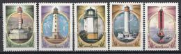 Sowjet Unie - Vuurtoren/Lighthouse/Leuchtturm - MNH - Y 4966-4970