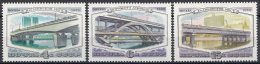 Sowjet Unie - Bruggen/Bridges/Brücken - Moskou - MNH - Y 4761-4763 - Bruggen