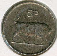Irlande Ireland 5 Pence 1980 KM 22 - Irlande