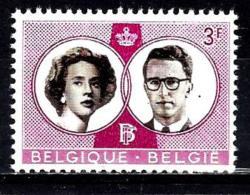 BELGIQUE 1170** 3,00f Lilas Mariage Royal