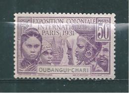 France Colonie Timbre  D´Oubangui De 1931  N°85  Neuf * - Neufs